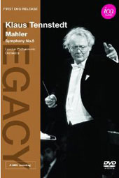 Mahler: Symphony No. 5 / Tennstedt, London Philharmonic [DVD]