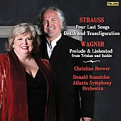 Strauss: Four Last Songs, etc;  Wagner / Brewer, et al