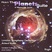 Holst: The Planets, A Moorside Suite / Hickox, Stobart
