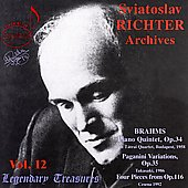 Legendary Treasures - Sviatoslav Richter Archives Vol 12