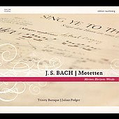 Bach: Motetten;  Schutz / Podger, Trinity Baroque