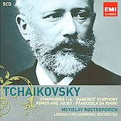 Tchaikovsky: Symphonies, Romeo & Juliet, Francesca da Rimini / Rostropovich, London PO