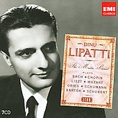 Icon - Dinu Lipatti - The Master Pianist plays Bach, Chopin, Liszt, etc