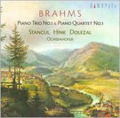 Brahms: Piano  Quartet and Trio / Stancul, Hink, Ochsenbofer, Dolezal
