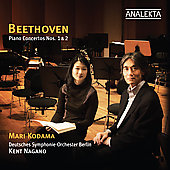 Beethoven: Piano Concertos 1 & 2 / Kodama, Nagano, Deutsches SO Berlin