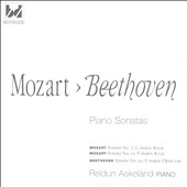 Mozart: Sonata No. 7, C major, K309; Sonata No. 12, F major, K332; Beethoven: Sonata No. 30, E major, Op. 109 / Reidun Askeland, piano
