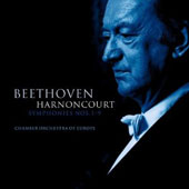 Beethoven: Symphonies Nos. 1-9 / Harnoncourt - CO of Europe