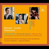 Mozart: Clarinet Concerto; Gliere: Harp Concerto; Korngold / Emmanuel Ceysson, harp