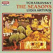 Tchaikovsky: The Seasons / Lydia Artymiv