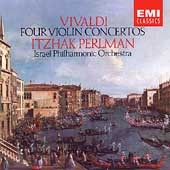 Vivaldi: Four Violin Concerts / Perlman, Israel Philharmonic