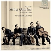Mozart: String Quartets K 157, 458 & 589