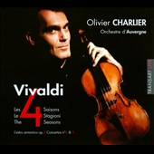 Vivaldi: 4 Seasons / Olivier Charlier