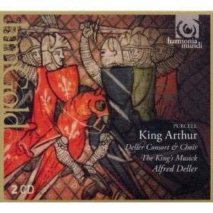 Purcell: King Arthur / Alfred Deller, The King's Musick