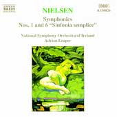 Nielsen: Symphonies 1 & 6 / Leaper, National SO of Ireland