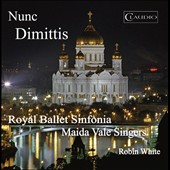 Nunc Dimittis - Russian Sacred Music for Chorus by Borodin, Arensky, Buketoff, Chesnokov, Labinski / Maida Vale Singers