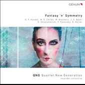 Fantasy 'n' symmetry - works by Handel, Blecharz, Pasovsky, Bach, Reiter et al. / QNG Recorder Collective
