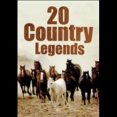 Various Artists: 20 Country Legends [Quantum Leap]