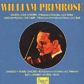 William Primrose - Walton, Vaughan Williams, Bach, et al