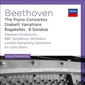 Beethoven: The Piano Concertos; Diabelli Variations; Bagatelles; 8 Sonatas / Stephen Kovacevich, piano [6 CDs]