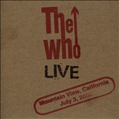 The Who: Live: Mountain View, CA July 3, 2002 [Slipcase]