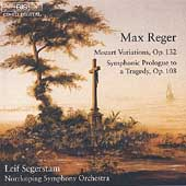 Reger: Mozart Variations, etc / Segerstam, Norrköping SO