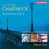 Chadwick: Symphonies 2 & 3 / J&auml;rvi, Detroit Symphony