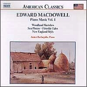 American Classics - MacDowell: Piano Music Vol 1 /Barbagallo