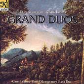 Schubert: Grand Sonata;  Loewe: Grand Duo / Sima, Montgomery