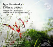 Igor Stavinsky: L'Oiseau de feu (The Firebird) - Version for Orchestra & Version for Piano Four Hands / Dennis Russell Davies & Maki Namekawa, pianos