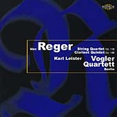 Reger: String Quartet, etc / Leister, Vogler Quartett Berlin