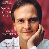 Sanz, De Murcia: Spanish Guitar Music / Jakob Lindberg