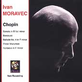 Chopin: Sonata in B flat minor, Berceuse, etc / Ivan Moravec, piano