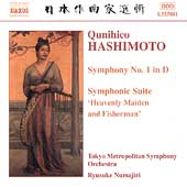 Hashimoto: Symphony no 1, etc / Numajiri, Tokyo Metropolitan