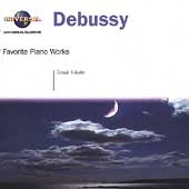 Debussy: Favorite Piano Works / Tam&#225;s V&#225;s&#225;ry