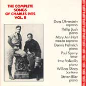 The Complete Songs of Charles Ives Vol 2