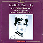 Maria Callas - Historical Recordings 1955-1960