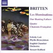 Britten: The Complete Orchestral Song Cycles Vol 1/ Bedford