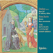 Dufay: Mass for St. Anthony Abbot;  et al / Kirkman, et al
