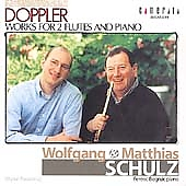 F. & K. Doppler: Works for Two Flutes and Piano/ Schulz, etc