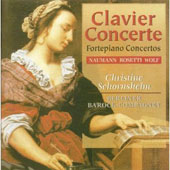 Clavier Concerte Vol 3 /Schornsheim, Berlin Barock-Compagney