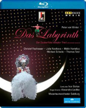 Peter von Winter: Das Labyrinth, part II of The Magic Flute / Fischesser, Novikova, Hartelius, Schade. Ivor Bolton [Blu-Ray]