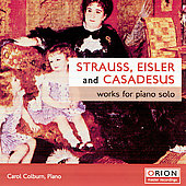 Strauss, Eisler, Casadesus / Colbum