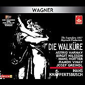 Wagner: Die Walk&uuml;re / Knappertsbusch, Varnay, et al