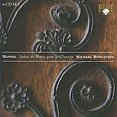 Handel: Suites for Harpsichord / Michael Borgstede