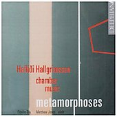 Hallgrimsson: Metamorphoses, Epigrams, Notes from a Diary / Jones, Fidelio Trio