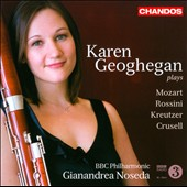 Karen Geoghegan plays Mozart, Crusell & Kreutzer