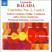 Leonardo Balada: Caprichos Nos. 2, 3 & 4