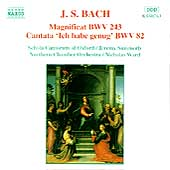 Bach: Magnificat, Ich habe genug / Summerly, Ward