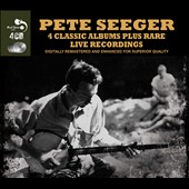 Pete Seeger (Folk Singer): Four Classic Albums [Box]