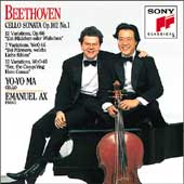 Beethoven: Sonatas for Cello & Piano Vol 3 / Ma, Ax